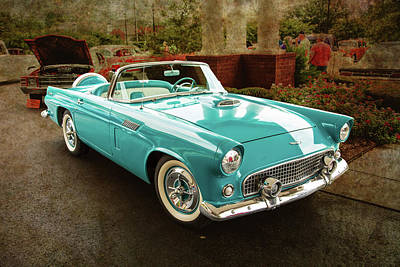 Photograph - 1956 Ford Thunderbird 5510.04 by M K Miller