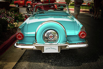 Photograph - 1956 Ford Thunderbird 5510.13 by M K Miller