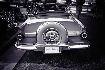 Photograph - 1956 Ford Thunderbird 5510.61 by M K Miller
