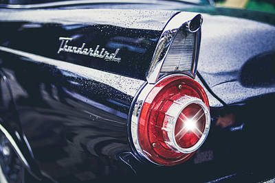 Photograph - 1956 Ford Thunderbird Classic by Ericamaxine Price