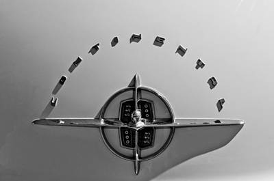 Photograph - 1956 Lincoln Continental Hood Ornament by Jill Reger