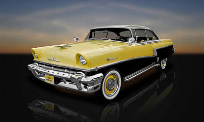 Photograph - 1956 Mercury Montclair 2-door Hardtop  -  56merc22 by Frank J Benz