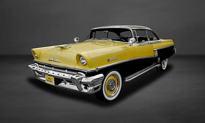 Photograph - 1956 Mercury Montclair 2-door Hardtop  -  56mercgr44 by Frank J Benz