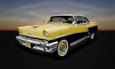 Photograph - 1956 Mercury Montclair 2-door Hardtop  -  56mercury11 by Frank J Benz