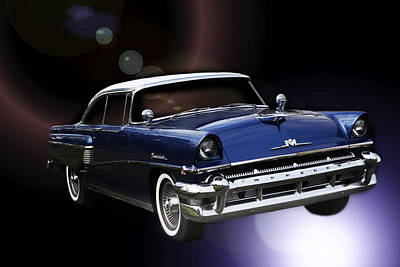 Photograph - 1956 Mercury Montclair by Rebecca Cozart