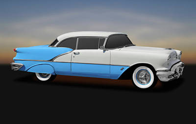 Photograph - 1956 Oldsmobile 88 Two Door Hardtop  -  1956olds882door170806 by Frank J Benz