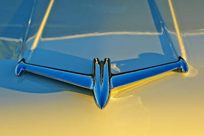 Photograph - 1956 Oldsmobile Hood Ornament 3 by Jill Reger