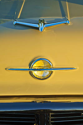 Photograph - 1956 Oldsmobile Hood Ornament by Jill Reger