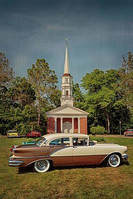 Photograph - 1956 Oldsmobile Super 88 by Susan Rissi Tregoning