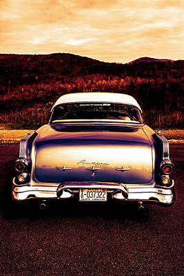 Photograph - 1956 Pontiac In Gold Tones by Debra and Dave Vanderlaan