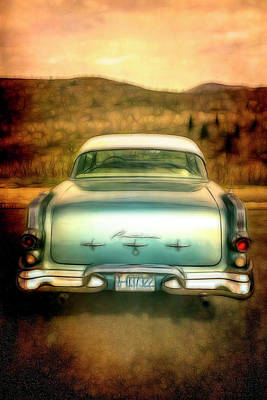 Photograph - 1956 Pontiac In Soft Tones by Debra and Dave Vanderlaan