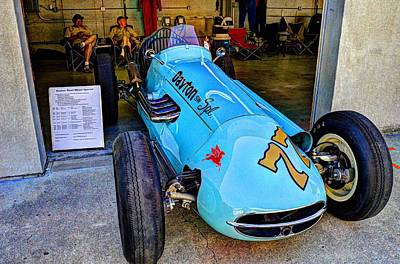 Photograph - 1956 Schroeder Roadster At Ims by Josh Williams