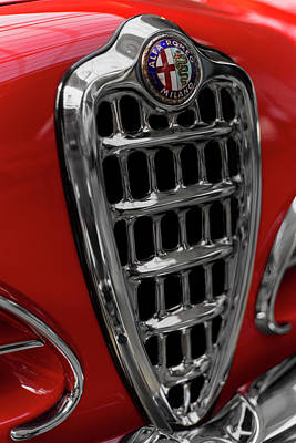 Photograph - 1957 Alfa Romeo 1900 Css Touring by 2bhappy4ever