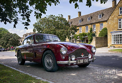 Photograph - 1957 Aston Martin Db Mkiii  by Tim Gainey