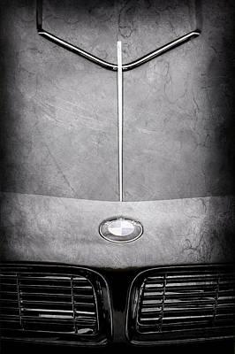 Photograph - 1957 Bmw 507 Series II Roadster Hood Emblem-2456ac by Jill Reger