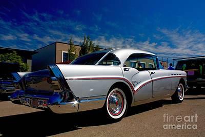 Photograph - 1957 Buick Century by Linda Bianic