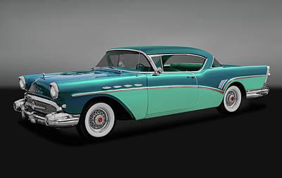 Photograph - 1957 Buick Super Riviera 2 Door Hardtop  -  1957buicksuperrivieragry170431 by Frank J Benz