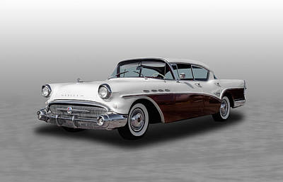 Photograph - 1957 Buick Super Sedan - 1 by Frank J Benz