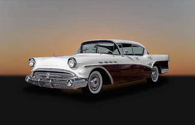 Photograph - 1957 Buick Super Sedan - 2 by Frank J Benz