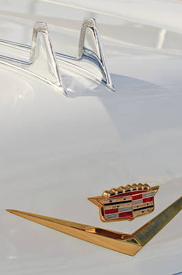 Photograph - 1957 Cadillac Hood Ornament 2 by Jill Reger