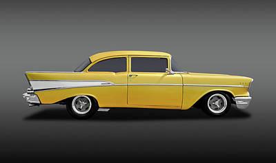 Photograph - 1957 Chevrolet 210 Delray  -  1957chevy210delrayfa170438 by Frank J Benz