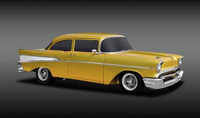 Photograph - 1957 Chevrolet 210 Delray  -  1957chevydelray210fa170425 by Frank J Benz