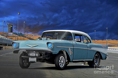 The Champagne Collection - 1957 Chevrolet B Gas Bel Air II by Dave Koontz
