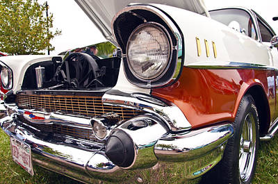 Photograph - 1957 Chevrolet Bel Air by Glenn Gordon