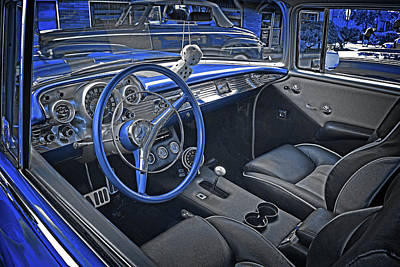 Digital Art - 1957 Chevrolet Interior by Richard Farrington