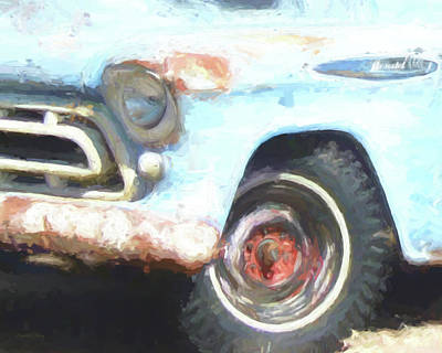 Digital Art - 1957 Chevy 3200 by David King