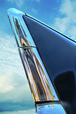 Photograph - 1957 Chevy Bel Air Tail Fin by Allen Beatty