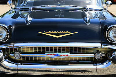 Photograph - 1957 Chevy Bel Air by Allen Beatty