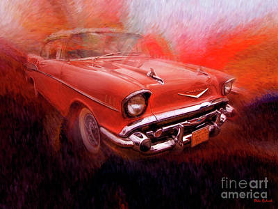 Photograph - 1957 Chevy by Blake Richards