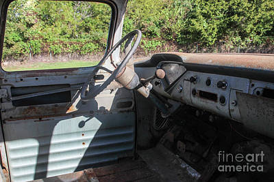 1957 Chevy Cab Pickup Art Print by Laura Deerwester