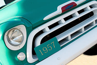 Photograph - 1957 Chevy Pickup Truck by Rospotte Photography