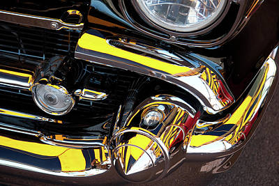 Art Print featuring the photograph 1957 Chevy by Roger Mullenhour