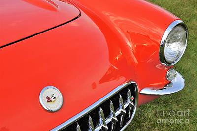 Photograph - 1957 Corvette by Neil Zimmerman