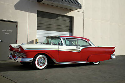 Photograph - 1957 Ford Fairlane Custom by Tim McCullough