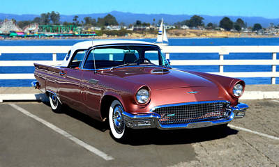 Photograph - 1957 Ford Thunderbird by Glenn McCarthy Art and Photography