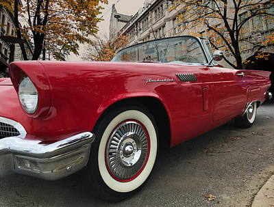 Photograph - 1957 Ford Thunderbird by Mark Guinn