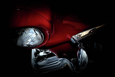 Photograph - 1957 Ford Thunderbird, No.6 by Eric Christopher Jackson