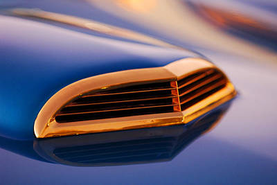 Ford Automobile Photograph - 1957 Ford Thunderbird Scoop by Jill Reger