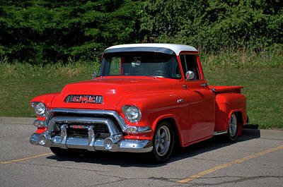 Photograph - 1957 Gmc Pickup by Tim McCullough
