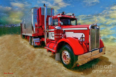 Photograph - 1957 Kenworth Truck by Blake Richards