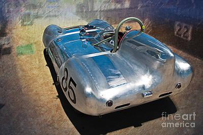 1957 Lotus Eleven Le Mans Art Print