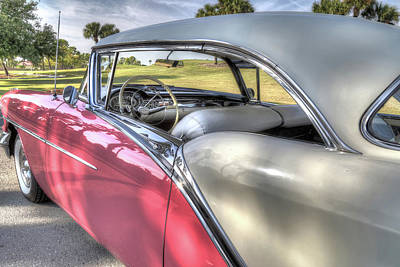 Photograph - 1957 Oldsmobile by Donna Kennedy