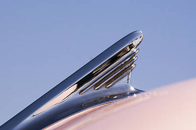 Photograph - 1957 Oldsmobile Super 88 Hood Ornament by Jill Reger