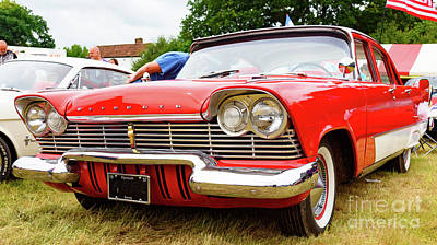 Photograph - 1957 Plymouth Savoy by Colin Rayner