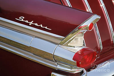 Photograph - 1957 Pontiac Safari by Dennis Hedberg