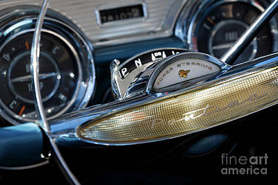 Photograph - 1957 Pontiac Star Chief by Dennis Hedberg